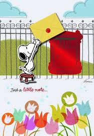 snoopy sending birthday wishes birthday card greeting cards