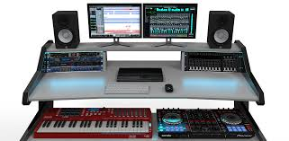 Music Studio Desk by Adding Extra Spark To Your Working Environment With Rgb Led Light