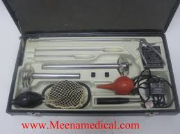 welch allyn fiber optic sigmoidoscope set preowned in condition