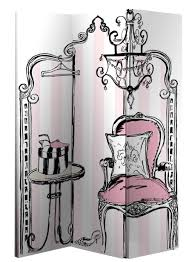 canvas room divider boudoir screen by arthouse wallpaper direct