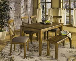 rustic wood dining room table