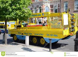 amphibious truck for sale amphibious vehicle in dublin ireland editorial photography