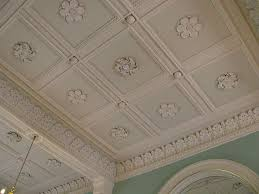 Decorative Ceiling Tile by Decorative Gypsum Ceiling For Design The Sophisticated Beauty Of