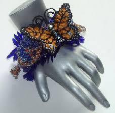 beaded butterfly bracelet images Beaded jewelry gallery 2 by erin simonetti jpg