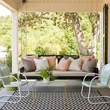 porch swing sofa design ideas