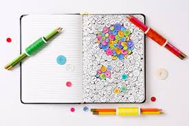 Convenience Colouring For Notebook Travellers The Plus Paper