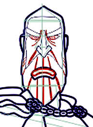 how to draw count dooku from star wars step by step drawing