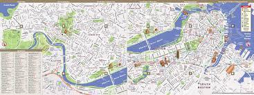 Boston Maps Google Com by Boston Map By Vandam Boston Streetsmart Map City Street Maps