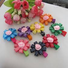 baby hair clip fashion baby hair infant girl hair flower headwear kid s