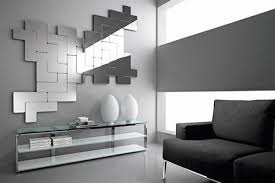 Mirror Wall Decoration Ideas Living Room Unique And Stunning Wall Mirror Designs For Living Room