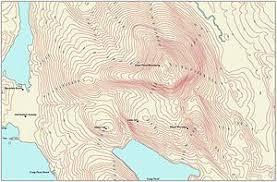isoline map definition contour line