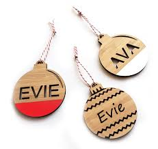 custom name christmas decoration u2013 hexi australia