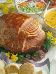 baked ham with honey apricot glaze pork recipes pork be inspired