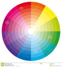 color tool color wheel stock vector illustration of schemes harmonious 15534689