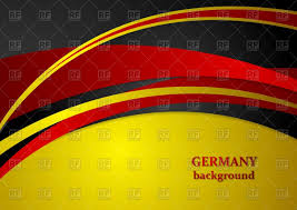 Germman Flag Corporate Background In German Flag Colors Royalty Free Vector