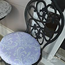 diy round chair cushions made simple plum doodles