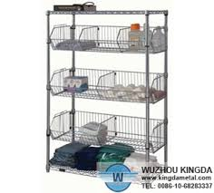 Storage Bookshelves With Baskets by Wire Basket Storage Shelves Wire Basket Storage Shelves