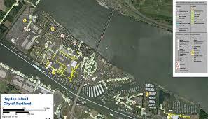 Portland Earthquake Map by Calendar U0026 Maps Hayden Island Net