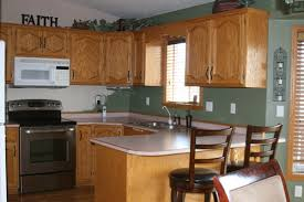 cool paint colors for kitchens with golden oak cabinets 79 on home