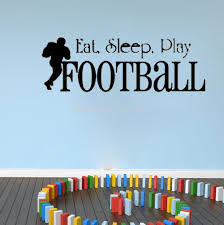 compare prices on sleeping quotes online shopping buy low price eat sleep football kids room wallpaper vinyl wall quote home decoration wall art living room decorative