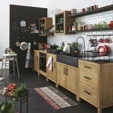 elements de cuisine independants meuble bas de cuisine en pin recyclé avec évier kitchens dining