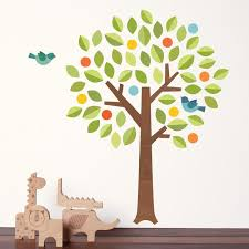 Tree Decal For Nursery Wall Fabric Tree Wall Decal Petit Collage