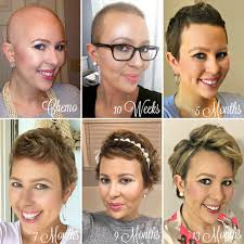 hair growth after chemo pictures post chemo hair growth styling tips my cancer chic