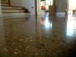 interior home design using polished concrete floors ideas combined