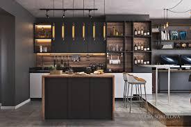modern industrial kitchen industrial style 3 modern bachelor apartment design ideas