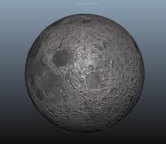 Moon Map 3d Model Moon Planet Normal Map Mid Poly 8k Res Vr Ar Low