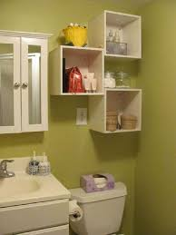 astonishing bathroom shelves over toilet with baskets white wooden