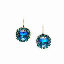 royal blue earrings surround royal blue leverback earrings gifts