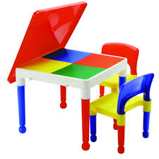 table and chairs plastic classical building block table chair set 652 super kids