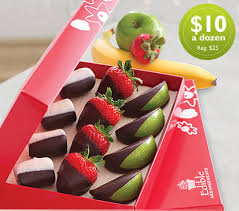 chocolate covered fruit arrangements edible arrangements 10 for a chocolate dipped fruit box