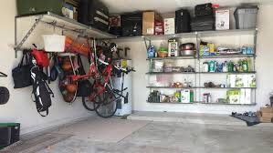 best garage ceiling storage ceiling mount garage storage rack gray