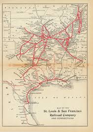 Frisco Texas Map About The Frisco Railroad Frisco Archive