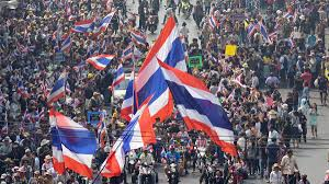 Thailand Round Flag Thailand U0027s Troubled Democracy Bloomberg