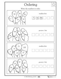 16 best images of ascending order first grade worksheets order