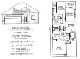1 story floor plan 2 bedroom house plans with garage narrow 2 story floor plans 2