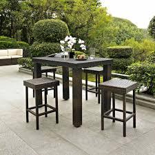 5 piece patio table and chairs attractive outdoor patio bar sets 5 pc patio bar set backyard garden