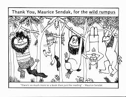 coloring pages where the wild things are coloring home