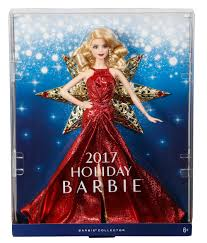 barbie 2017 holiday doll toys