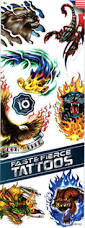 u0026 fierce tattoos 300pcs