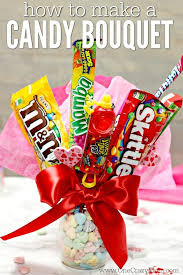 candy gift baskets candy bouquet diy easy candy gift basket candy arrangements