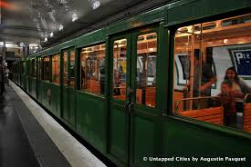 Paris Subway A Vintage Metro Ride In Paris Untapped Cities