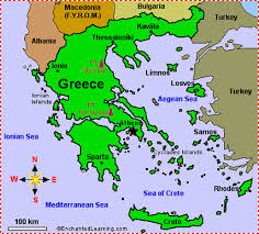 greece map political ethnicity and political geography greece castro 4th