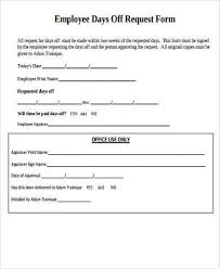 request off forms time off request form stock photo leave