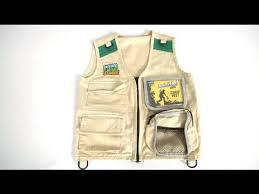 backyard safari adventures cargo vest from alex brands youtube