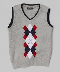 fouger for kids gray u0026 red argyle sweater vest toddler u0026 boys