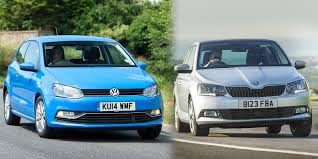 volkswagen hatchback 1970 2015 volkswagen polo vs skoda fabia u2013 side by side comparison carwow